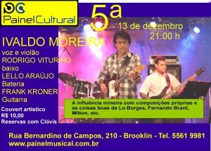 Ivaldo Moreira quinta dia 13